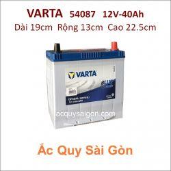 Ắc quy Varta 12V 40Ah 54087 (44B19L)