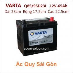 Ắc quy Varta 12V 65Ah Q85/95D23L
