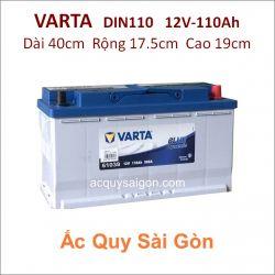 Ắc quy Varta 12V-110Ah Din110 (61038)