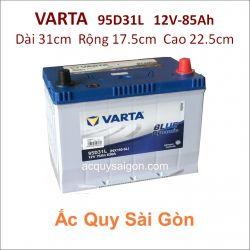 Ắc quy Varta 12V 85Ah 95D31L (NX120-7L)