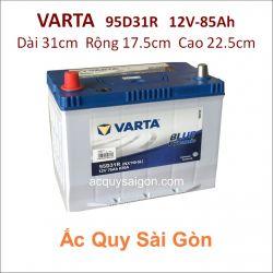 Ắc quy Varta 12V 85Ah 95D31R (NX120-7R)