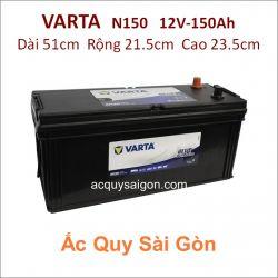 Ắc quy Varta 12V/150Ah 180G51R (N150)