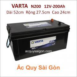 Ắc quy Varta 12V/200Ah 220H52R (N200)