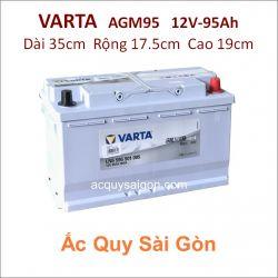 Ắc quy Varta 12V 95Ah AGM95 (595901085)
