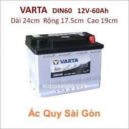 Ắc quy Varta 12V 60Ah Din60 (56030)