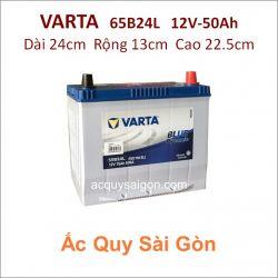 Ắc quy Varta 12V 50Ah 65B24L (NX100-S6L)