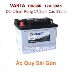 Ắc quy Varta 12V 60Ah Din60R (56031)