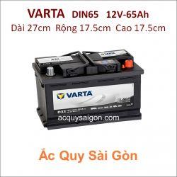 Ắc quy Varta 12V 65Ah Din65 (56530)