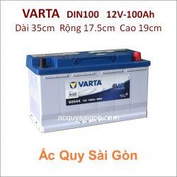 Ắc quy Varta 12V-100Ah Din100 (60044)