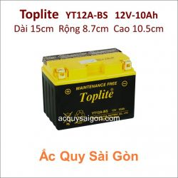 Ắc quy Yuasa Toplite 12V-10Ah YT12A-BS (Cao cấp)