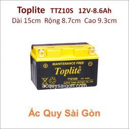 Ắc quy Yuasa Toplite 12V 8.6Ah TTZ10S (Cao cấp)