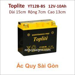 Ắc quy Yuasa Toplite 12V-10Ah YT12B-BS (Cao cấp)
