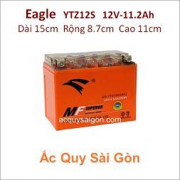 Ắc quy xe mô tô gel Eagle 12V-11.2Ah YTZ12S