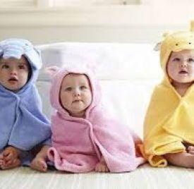 Áo choàng tắm trẻ em sz 1