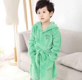 Trẻ em Trai Cô Gái Áo Choàng Tắm