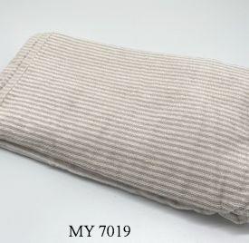 Khăn Tắm Kẻ Cotton Mỹ - Sọc nâu nhỏ (70x140 - 350gr)