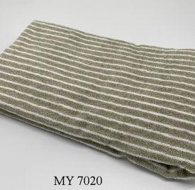 Khăn Tắm Kẻ Cotton Mỹ - Sọc xanh rêu (70x140 - 350gr) Copy 04/01/2021 17:10:09
