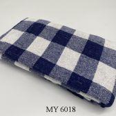 Khăn Tắm Kẻ Cotton Mỹ - Xanh navy caro to (60x120 - 300gr)