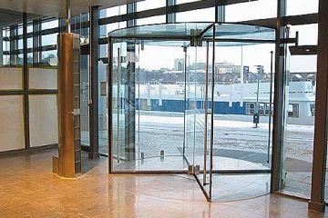 Cửa tự động + cửa thủy lực