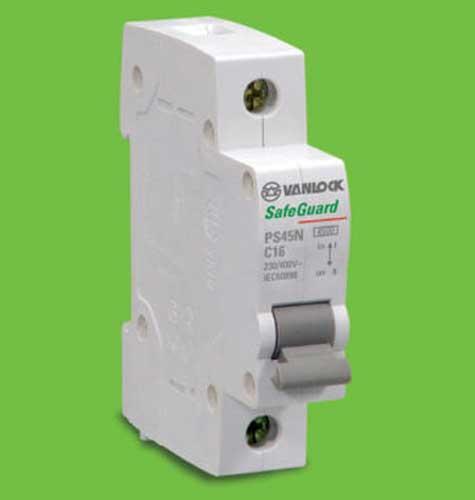 át tép 1 cực 25A-4,5KA (PS45N/C1025) Vanlock