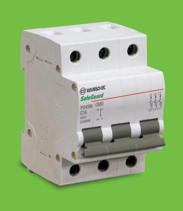 át tép 3 cực 16A-4,5KA (PS45N/C3016) Vanlock