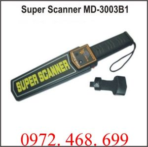Máy dò kim loại cầm tay Super Scanner MD-3003B1