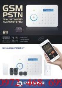 Hệ thống báo trộm không dây dùng SIM và line điện thoại CHUANGO CG-B11