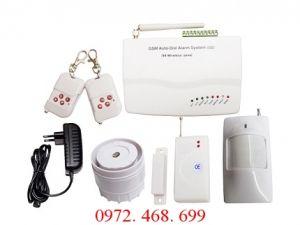 Trung tâm báo động không dây dùng SIM di động Guardsman GS-3500