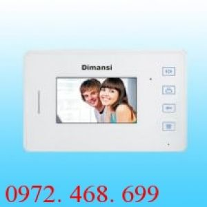 Màn hình chuông cửa Video Intercom Dimansi DMS-08FC16A