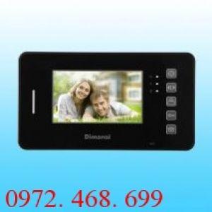 Màn hình chuông cửa Video Intercom Dimansi DMS-08FC18E