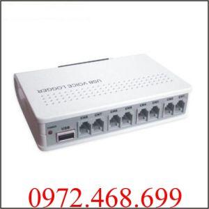 Box ghi âm điện thoại 8 kênh Tansonic - TX2006U8