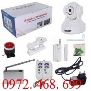 Camera IP không dây kết hợp báo động Wanscam HW0024-G