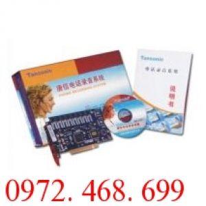 Card ghi âm điện thoại 8 Cổng Tansonic TX2006P311-8