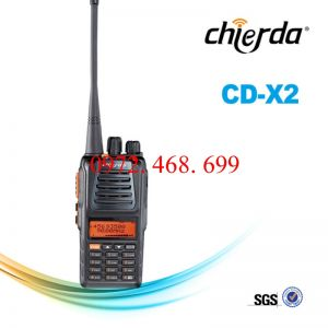BỘ ĐÀM  CHỐNG NƯỚC CHIERDA CD-X2