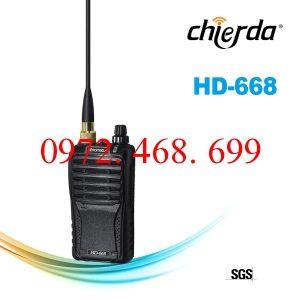 BỘ ĐÀM CHỐNG NƯỚC CHIERDA HD-668