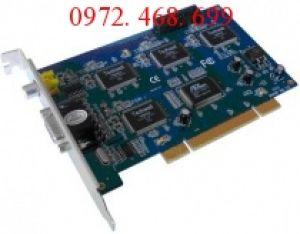 Card ghi hình Camera 4 kênh : Techwell CH-8104