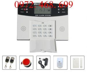 THIẾT BỊ CHỐNG TRỘM  GSM ALARM SYSTEM G10E