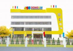 Thiết kế nội thất Trường mầm non Dongsim Kindergarten
