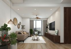 Thiết kế nội thất chung cư T&T Riverview 70m2 - Anh Đức