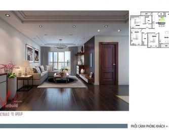 Thiết kế nội thất chung cư - Chị Thủy