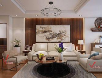Chung cư thiết kế theo phong cách hiện đại - Khách hàng chị Hạnh