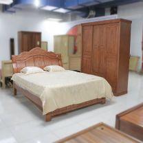 Bộ phòng ngủ gỗ cẩm ấn cao cấp nhập khẩu 1572