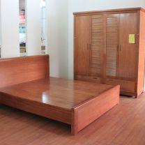 Bộ phòng ngủ gỗ Sồi Mỹ cao cấp 1568