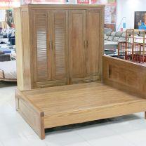 Bộ phòng ngủ gỗ thông cao cấp 1569
