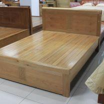Giường ngủ gỗ Sồi Nga cao cấp TN-GSM1.6