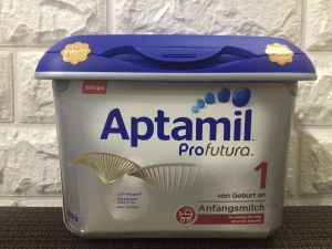 Sữa Aptamil Milupa Đức Nội Địa 800g Bạc Lùn Số 1 Hộp Nhựa