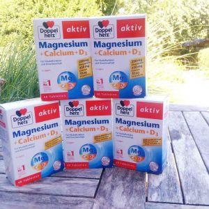 viên uống bổ sung canxi doppelherz calcium + d3 (30 viên)