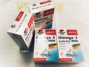 thuốc bổ sung omega-3 seefischöl 1000 -hộp 80v