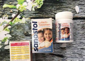 Vitamin Sanostol (tổng hợp) dạng viên :