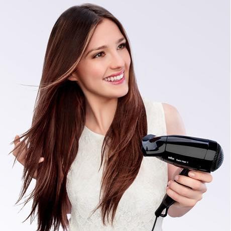 Máy sấy tóc mini Braun